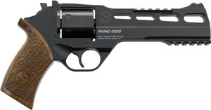 CHIAPPA RHINO 60DS 9MM 6 ADJ. SIGHT BLACK/WALNUT