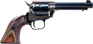 HERITAGE .22/22WMR COMBO 4.75 BLUED/C.COLORED LAMINATE GRIPS