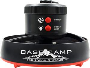 MR.HEATER BASECAMP TENT FAN W/ L.E.D. LIGHT 4D BATT NOT INCL