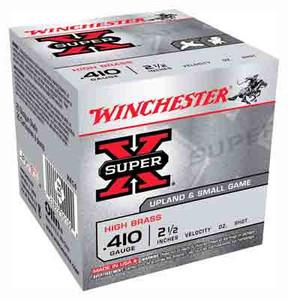 WIN AMMO SUPER-X .410 2.5 1245FPS. 1/2OZ. #6 25-PACK