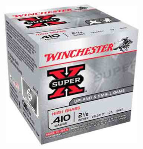 WIN AMMO SUPER-X .410 2.5 1245FPS. 1/2OZ. #4 25-PACK