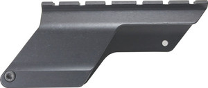AIMTECH SADDLE MOUNT MOSSBERG 500/590 12GA. BLACK MATTE