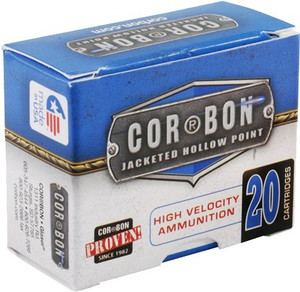 CORBON AMMO .38 SPECIAL+P 110GR. JHP 20-PACK