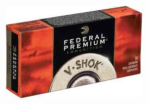 FED AMMO PREMIUM .222 REM. 43GR. TNT GREEN 20-PACK