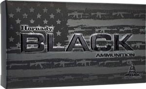 HORNADY AMMO BLACK .223 REM. 75GR. BTHP MATCH 20-PACK