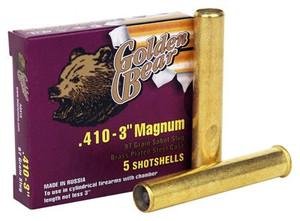 GOLDEN BEAR .410 3 97 GRAIN SLUG .2217 OZ. 5-PACK
