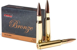 PMC AMMO .50 BMG 660 GRAIN FMJ-BT 10-PACK
