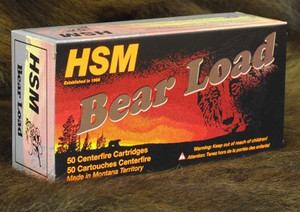 HSM BEAR AMMO .460 S&W 325GR WFN GAS CHECK 20-PACK