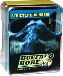 BUFFALO BORE AMMO .460 S&W MAG 360GR. LEAD FLAT NOSE 20-PACK