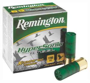 REM AMMO HYPERSONIC STEEL 25PK 12GA. 3 1700FPS. 1-1/8OZ. #2