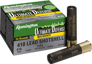 REM AMMO ULTIMATE HOME DEFENSE .410 3 OOOBK 15-PACK