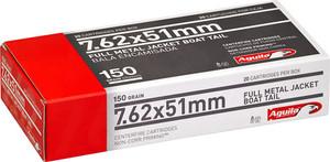 AGUILA AMMO 7.62X51 150GR. FMJBT 20-PACK