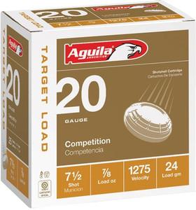 AGUILA SHOTSHELL 20GA. 7/8OZ #7.5 25-PACK