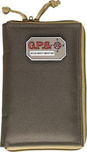 GPS PISTOL SLEEVE MED LOCKABLE ZIPPER RIFLE GREEN/KHAKI NYLON