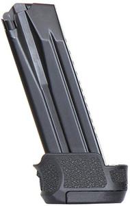 HK MAGAZINE P30SK/VP9SK 9MM 15RD BLACK STEEL