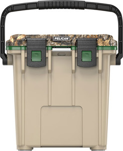 PELICAN COOLERS IM 20 QUART ELITE REALTREE XTRA W/CUT OUT