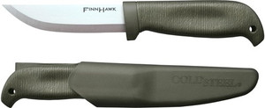 COLD STEEL FINN HAWK 4 CURVED BELLY BLADE W/ SECURE-EX SHTH