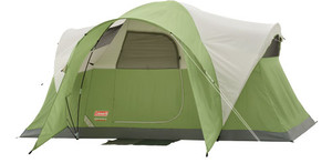COLEMAN MONTANA MODIFIED DOME TENT 6 PERSON 12'X7'