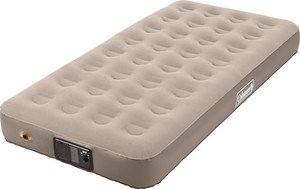 COLEMAN QUICKBED ELITE TWIN W/ BUILT IN 4D PUMP EXTRA HIGH