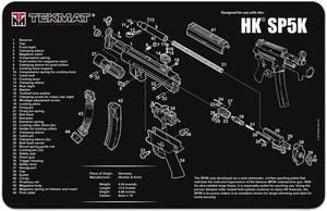 TEKMAT ARMORERS BENCH MAT 11x17 HECKLER & KOCH SP5K