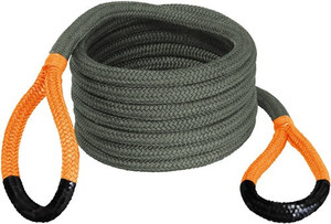 BUBBA ROPE RENEGADE 3/4X30' JEEP STRETCH ROPE ORANGE EYES