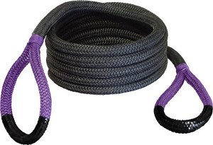 BUBBA ROPE SIDEWINDER 5/8X20' UTV POWER STRETCH RP PURP EYES