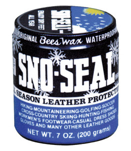 ATSKO SNO-SEAL BEESWAX LEATHER WATERPROOFING 8FL OZ