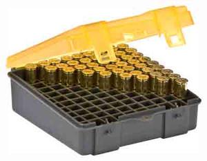 PLANO AMMO BOX .38/.357 100-RNDS FLIP TOP