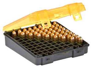 PLANO AMMO BOX 9MM/.380ACP 100-RNDS FLIP TOP