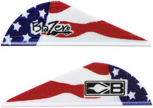 BOHNING BLAZER VANES TRUE COLOR 2 AMERICAN FLAG 100PK