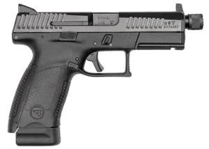 CZ 91533 P-10 C 9mm Luger Double 4.61 17+1 Polymer Grip Polymer Frame Black Nitride Slide