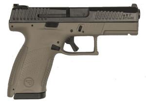 CZ 91532 P-10 C 9mm Luger Double 4 15+1 Polymer Grip Black Nitride Slide