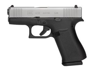 "GLOCK G43X NIGHT SIGHTS 9mm 3.41"" Black 10+1"