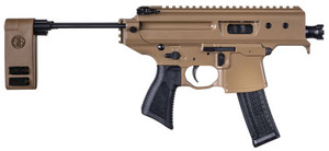 """Sig Sauer PMPX3BCH MPX Copperhead 9mm Luger 3.50"""" 20+1 Coyote Cerakote Black Polymer PCB Folding"""