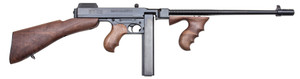 "Thompson T1B 1927A-1 Deluxe Semi-Automatic 45 Automatic Colt Pistol (ACP) 16.5"" MB 20+1 American Walnut, Detachable Stk Blued"