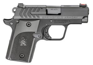 "Springfield Armory PG9108 911 Alpha 380 ACP Single 2.7"" 6+1 Black Polymer Grip Black Hardcoat Anodized Aluminum Frame Black Nitride Stainless Steel Slide"