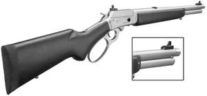 Marlin -70438 1894CST Big Loop Lever 357 Magnum/38 Special 16.5 TB 7+1 Laminate Black Stk Stainless Steel*