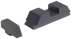 AmeriGlo GT504 Defoor Tactical Sight Glock 17/19/22/23/24/26/27/33/34/35/37/38/39 Steel Black*