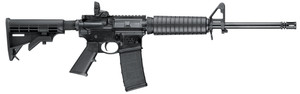 "Smith & Wesson 10202 M&P15 Sport II Semi-Automatic 223 Remington/5.56 NATO 16"" 30+1 6 Position Collapsible w/Pistol Grip Stk Black Armornite"