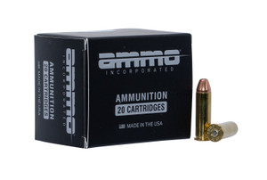 Ammo Inc 38125JHPA20 Jesse James TML 38 Special 125 GR Jacketed Hollow Point 20 Bx/ 10 Cs