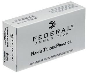 Federal RTP9115 -Range and Target  9mm Luger 115 GR Full Metal Jacket 50 rounds