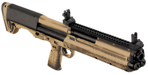 Kel-Tec KSGTAN KSG Pump 12 ga 18.5 3 Tan Syn Stk Tan Finish*