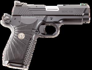 Wilson Combat EDCX9 1911 EDC X9 9mm Luger Single 4 15+1 Black G10 Grip Black Stainless Steel Slide*