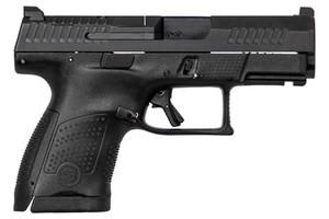 CZ 95170 P-10 USA Sub-Compact Optics Ready 9mm Luger Double 3.5 12+1 Black Interchangeable Backstrap Grip*