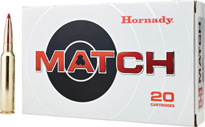 Hornady 82162 Match  300 Precision Rifle Cartridge (PRC) 225 GR ELD-Match 20 Bx/ 10 Cs*