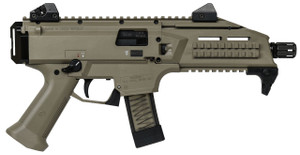 CZ 91352 Scorpion EVO 3 S1 Pistol Pistol Semi-Automatic 9mm Luger 7.7 20+1 Polymer Flat Dark Earth*