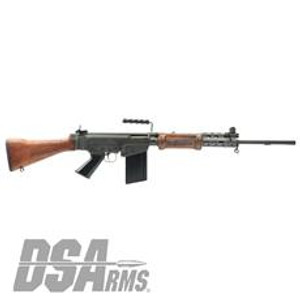 "DSA SA58 FAL 21"" Israeli Light Barrel Rifle - Soldier Grade Battle Worn Hebrew War Hammer MODEL SA5821IS-SG-A"