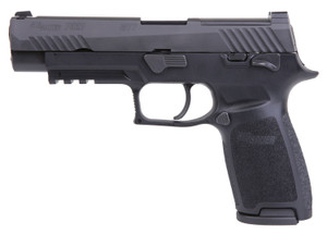 """Sig Sauer 320F9M17MSBRAVO P320 M17 Bravo 9mm Luger 4.70"""" 17+1 Black Stainless Steel, Black Polymer Package deal comes with 4 17round magazines."""