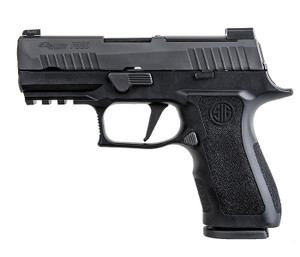"""Sig Sauer 320XC9BXR3R2 P320 XCompact 9mm Luger 3.60"""" 15+1 Black, Modular Polymer Package Deal comes with 4 magazines 2 15rnd & 2 17 rnd."""