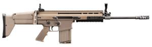 """FN 985411 SCAR 17S American 308 Win,7.62 NATO 16.20"""" 20+1 FDE/Black Flat Dark Earth Telescoping Side-Folding w/Adjustable Cheek Stock"""